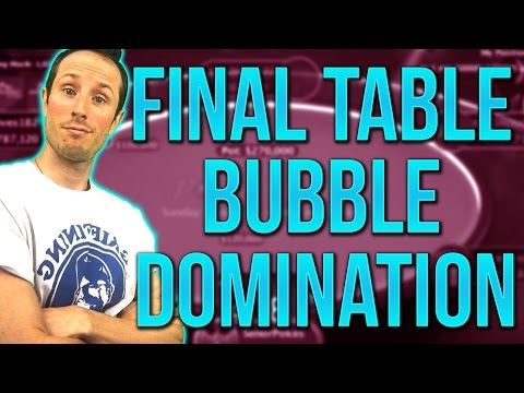 $215 Supersonic Win Review: How To Abuse the FINAL TABLE Bubble & Profit [Part 4]