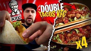 Je test le Double Tacos de KFC avec Pidi... J'avais faim j'en prends 4 et...