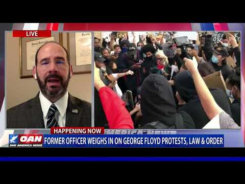 Former Police Officer Delves Into George Floyd Protests, Law & Order