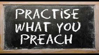 HOW TO NOT BE A PHARISEE