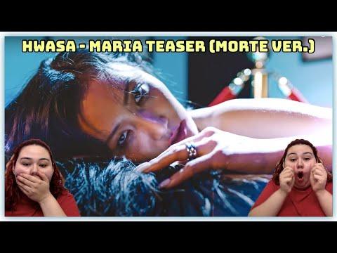 Hwa Sa (화사) – 마리아 (Maria) (morte ver.) Teaser   OMG!!! Reaction