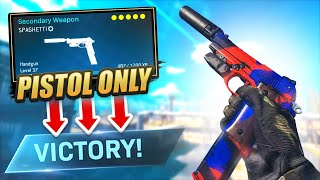 I'm BACK! - PISTOL *ONLY* CHALLENGE on WARZONE