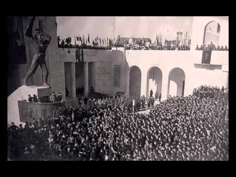 Benito Mussolini - Roma: Discorso del 22 Gennaio 1939 (con Testo)