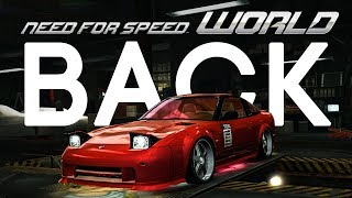 NEED FOR SPEED WORLD IS BACK ONLINE!!