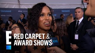 Kerry Washington Gushes Over New Baby | E! Live from the Red Carpet