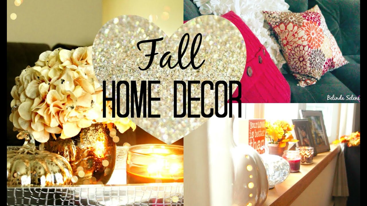 cute easy cheap fall home decor belinda selene youtube