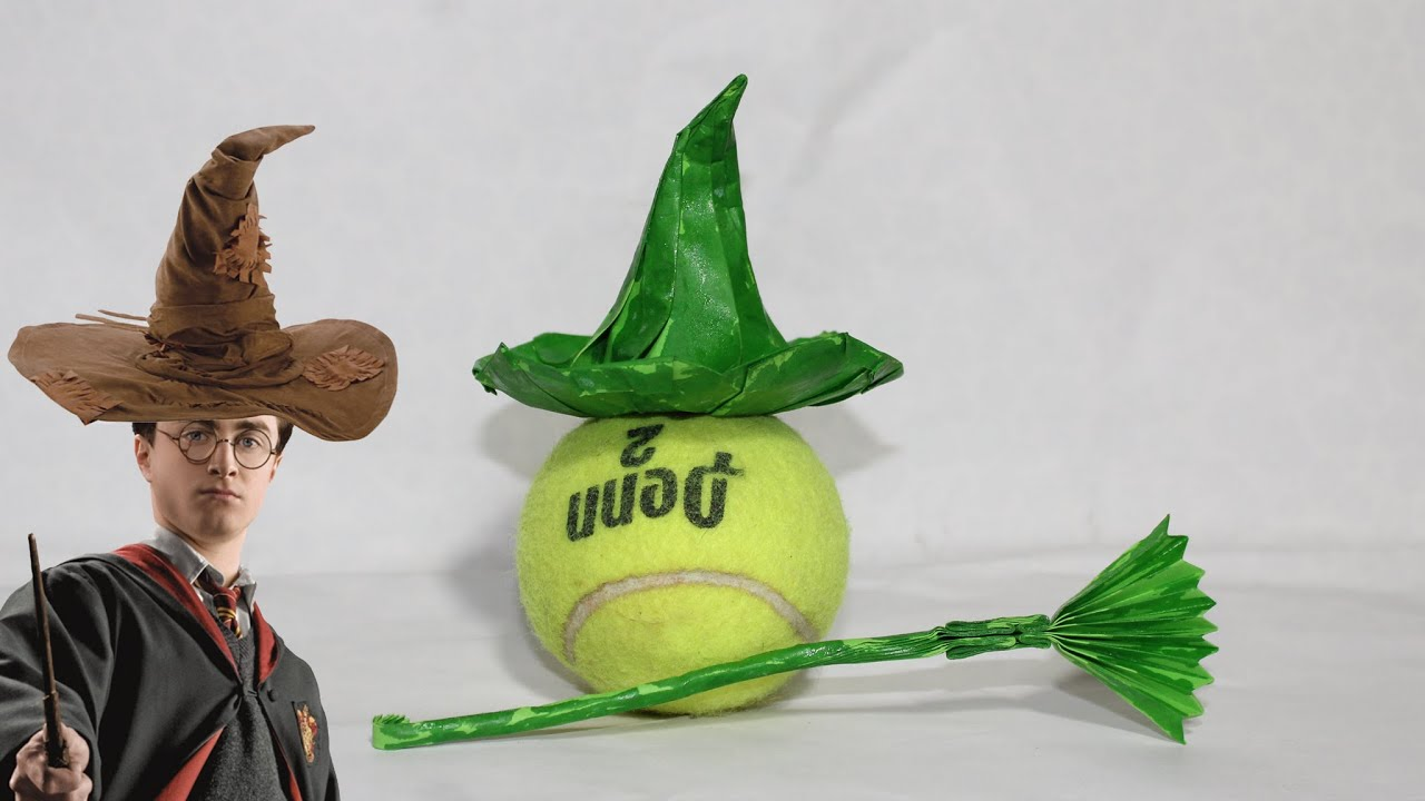 origami wizard hat tutorial diy henry phạm youtube