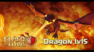Clash of Clans - New Update! Level 5 Dragon Gameplay, New Air Sweeper (Sneak Peek)
