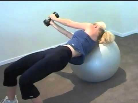 Women Fitness Training Workout For Triceps, Biceps and Chest from YouTube · Duration:  7 minutes 47 seconds