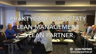 Lean Management w Praktyce - otwarte szkolenia z Lean Partner