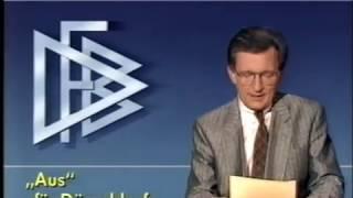 1987 Fortuna Düsseldorf | Abstieg in Bochum | Fortuna-Protest | DFB-Urteil