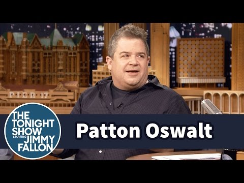 Patton Oswalt Speaks on Dealing with His Grief