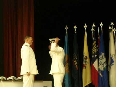 Auburn NROTC Spring Commissioning 2013- Ensign Broten