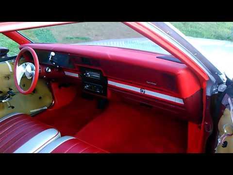 1982 Chevy Caprice 2dr Custom Dash Finished SSinteriors Matt
