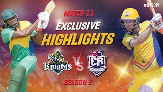 Vancouver Knights vs Edmonton Royals Exclusive Highlights | Match 11 Highlights | GT20 Canada 2019