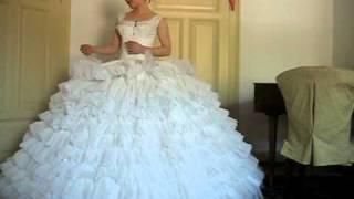 Crinoline with petticoat