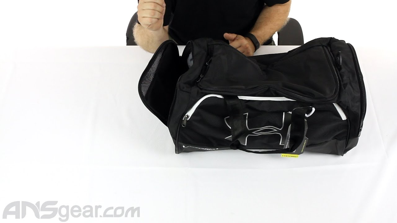 4ee6c7732869 Under Armour Storm Undeniable II Medium Duffle Bag - Review - YouTube