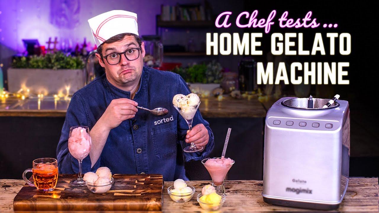 A Chef Tests a Home Gelato Machine | SORTEDfood
