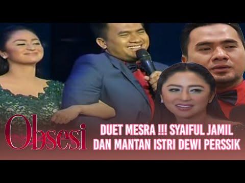 Duet mesra Saipul Jamil dengan sang mantan istri, Dewi Perssik - Obsesi 20/01