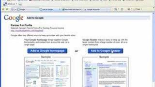 Setting Up Google Reader