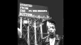 Drake - Started From The Bottom (Remix) (feat. Wiz Khalifa) (LYRICS)