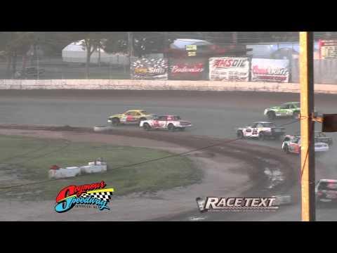 Seymour Speedway - IMCA Stock Car Feature - June 8, 2014