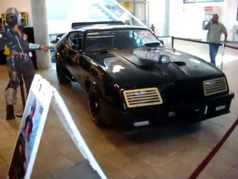 Ny Car Show >> Mad Max Interceptors at George Barris' Hollywood Star Car Show 2010 - YouTube