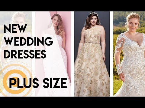 New Plus Size Wedding Dresses 2019. http://bit.ly/2HDu3dS