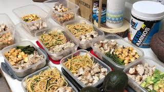 Заготовка приемов питания