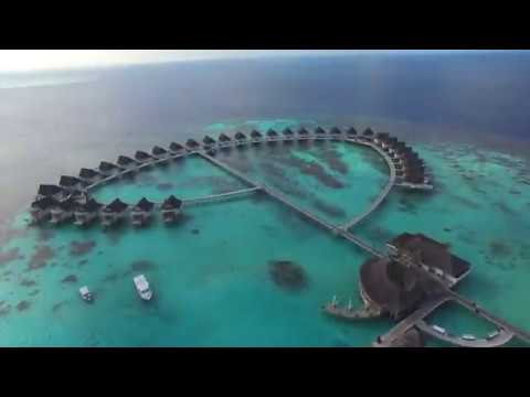 Drone tour  Centara Grand Island Resort  Spa Maldives - Maldives resort