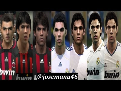 KAKA from PES 2 to PES 2013