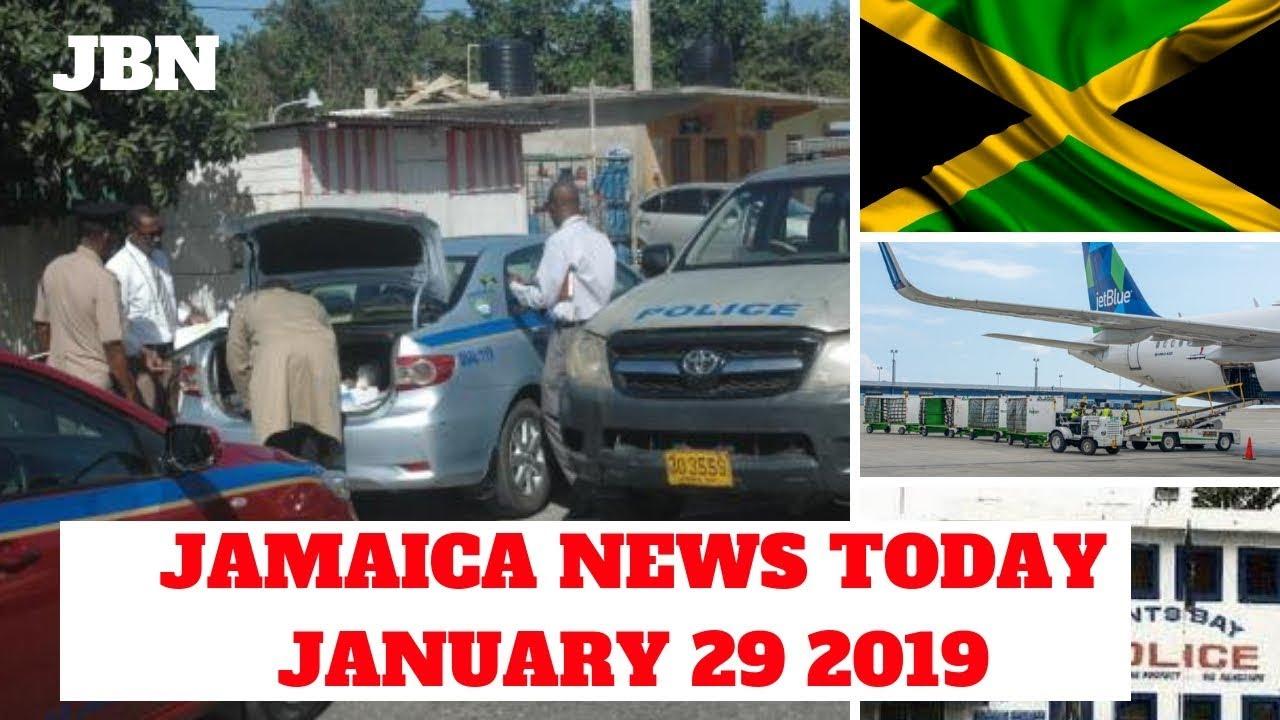 Jamaica News January 29 2019/JBN |airport employee| manchester |may pen hospital | TVJ/CVM news