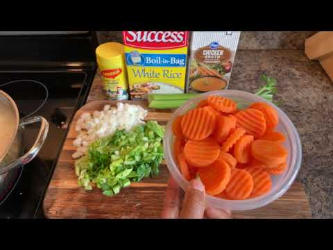 How To Make Chicken N Rice Soup