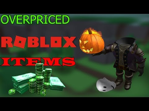 TOP 5 OVERPRICED ROBLOX ITEMS