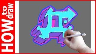 Как нарисовать граффити буквы, Д № 1(INSTAGRAM: https://www.instagram.com/dmitrysyrman/ Я в ВКОНТАКТЕ: http://vk.com/syrman_d Группа в ВКОНТАКТЕ: http://vk.com/public59608073 I'm on ..., 2016-09-23T03:03:14.000Z)
