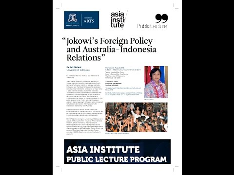 Jokowi's Foreign Policy and Australia-Indonesia Relations