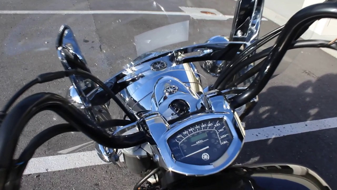 SOLD! 2013 Yamaha V Star 1300 Tourer Motorcycle Review Start Up For ...