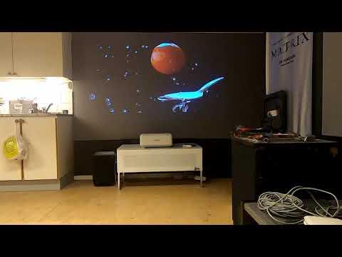 Test Sony VPL SW536 kortskjutande projektor