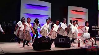 African Sunday Children Dance Group (Joe Praize - I Am Blessed)