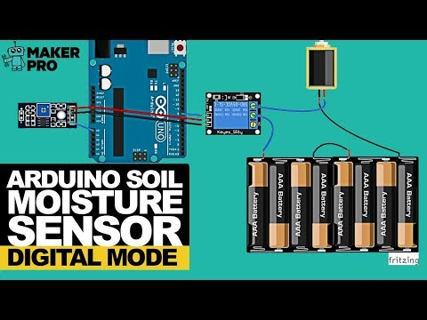How to Test Soil With Arduino and an FC-28 Moisture Sensor