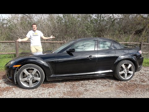 The Mazda RX8 Is a Fun Car You Probably Shouldn't Buy