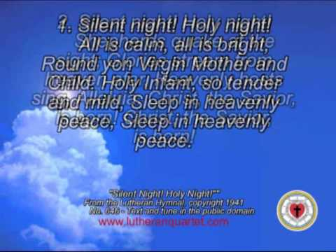 """Silent Night! Holy Night!"" by the Lutheran Quartet"