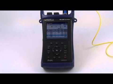 Reflektometr OFL280-103 - prezentacja