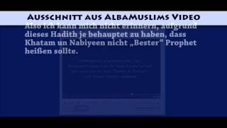 Re: TheWegweiser widelegt die Ahmadiyya (offiziell)