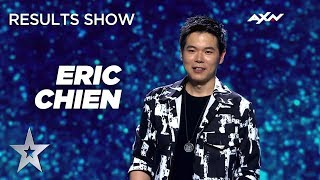 MAGICIAN ERIC CHIEN Does It AGAIN! It's MAGIC! - Results Show | Asia's Got Talent 2019 on AXN Asia