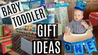 What My 1 Year Old Got For His Birthday // Baby & Toddler Gift Ideas
