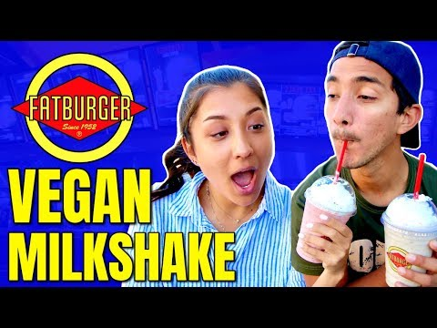 Fat Burger Goes Vegan / Vegan Milkshakes