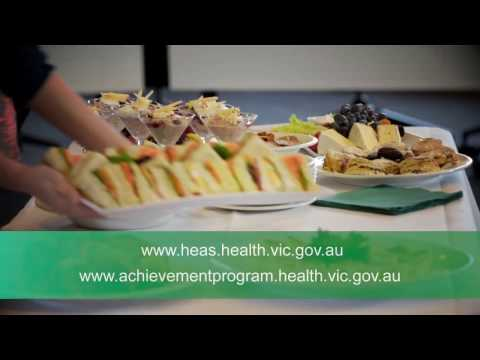 Healthy catering in the workplace