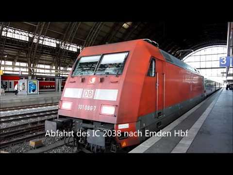 Eisenbahnverkehr in Bremen Hbf