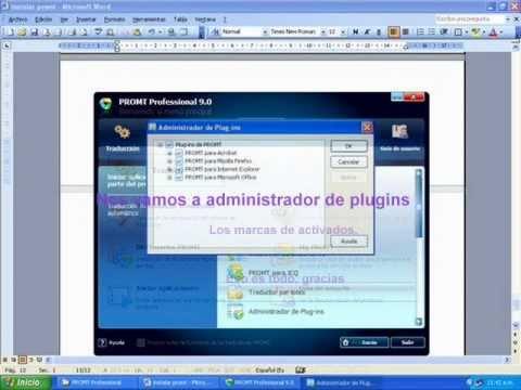 Tutorial Instalación + Traductor  Promt profesional 9 Español + MULTI 6
